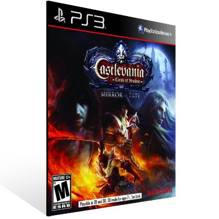 Castlevania Lords Of Shadow Mirror Of Fate Hd - Ps3 Psn Mídia Digital