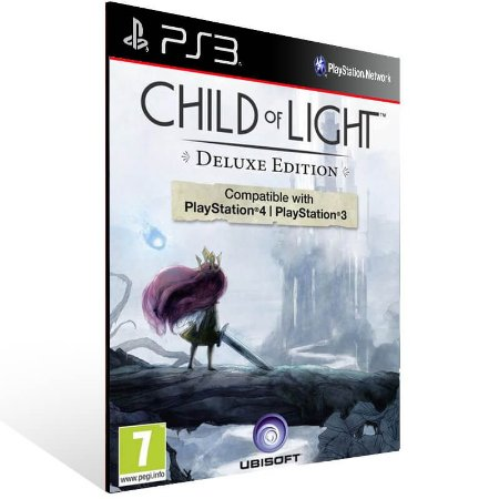 Child Of Light Ultimate Edition - Ps3 Psn Mídia Digital