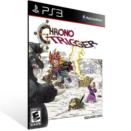 Chrono Trigger - Ps3 Psn Mídia Digital