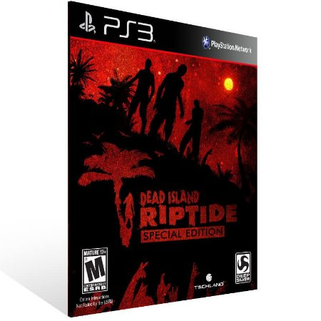 Dead Island Riptide Complete Edition - Ps3 Psn Mídia Digital