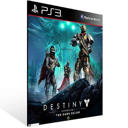 Destiny Expansion 1 The Dark Below - Ps3 Psn Mídia Digital