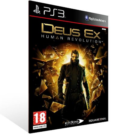 Deus Ex Human Revolution - Ps3 Psn Mídia Digital