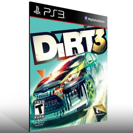 Dirt 3 - Ps3 Psn Mídia Digital