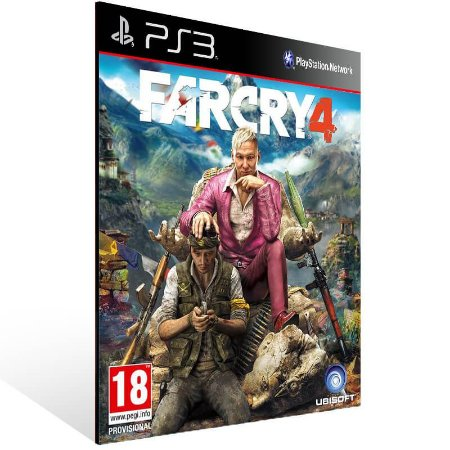 Far Cry 4 - Ps3 Psn Mídia Digital