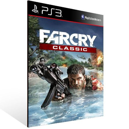 Far Cry Classic - Ps3 Psn Mídia Digital