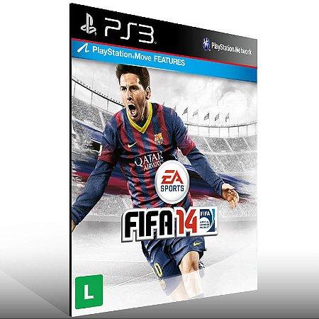 Fifa 14 - Ps3 Psn Mídia Digital