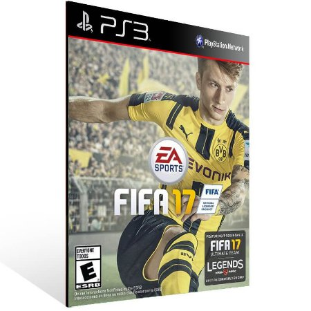 Fifa 17 - Ps3 Psn Mídia Digital