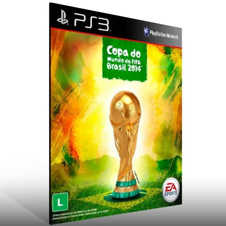 Fifa Copa Do Mundo 2014 - Ps3 Psn Mídia Digital