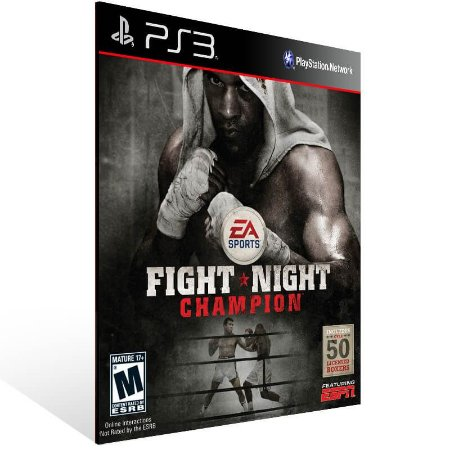 Fight Night Champion - Ps3 Psn Mídia Digital
