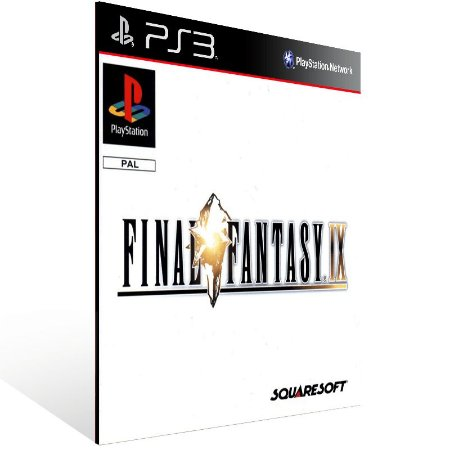 Final Fantasy 9 - Ps3 Psn Mídia Digital