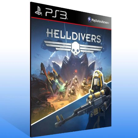 Helldivers - Ps3 Psn Midia Digital