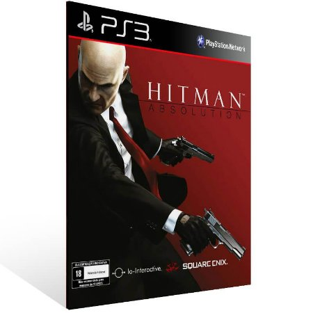 Hitman Absolution - Ps3 Psn Mídia Digital