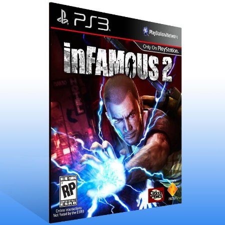 Infamous 2 - Ps3 Psn Mídia Digital