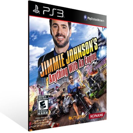 Jimmie Johnsons Anything With An Engine - Ps3 Psn Mídia Digital
