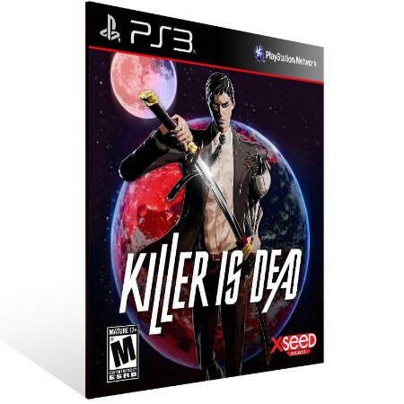 Killer Is Dead - Ps3 Psn Mídia Digital