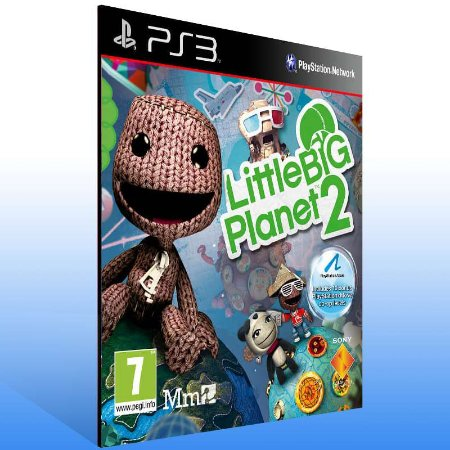 Littlebigplanet 2 - Ps3 Psn Mídia Digital
