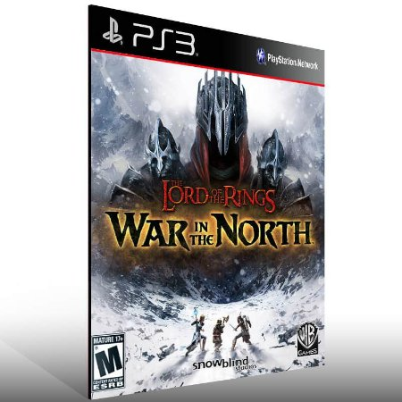 Lord of the Rings War in the North - Ps3 Psn Midia Digital