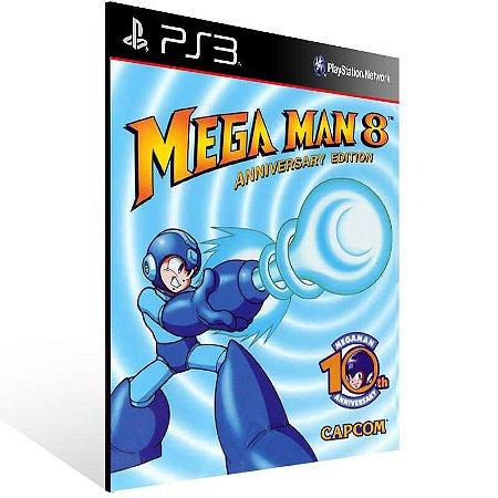 Mega Man 8 - Ps3 Psn Mídia Digital