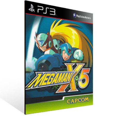Mega Man X5 (Psone Classic) - Ps3 Psn Mídia Digital