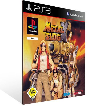 Metal Slug X (Psone Classic) - Ps3 Psn Mídia Digital