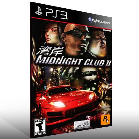 Midnight Club 2 - Ps3 Psn Mídia Digital