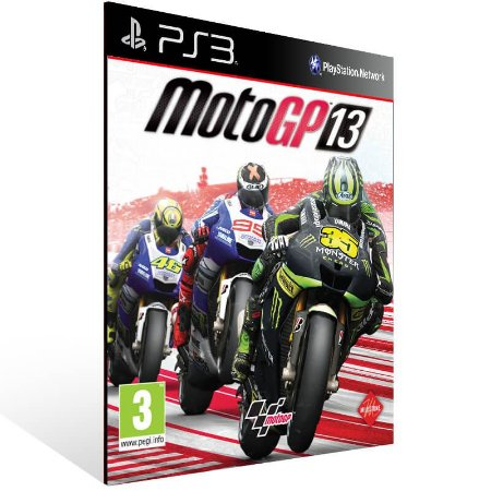 Motogp 13 - Ps3 Psn Mídia Digital