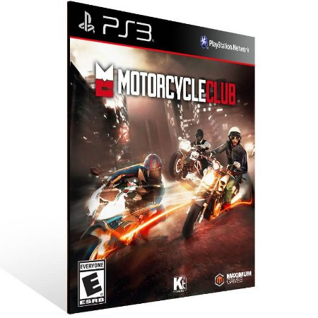 Motorcycle Club - Ps3 Psn Mídia Digital