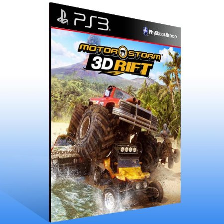 Motorstorm 3D Rift - Ps3 Psn Mídia Digital