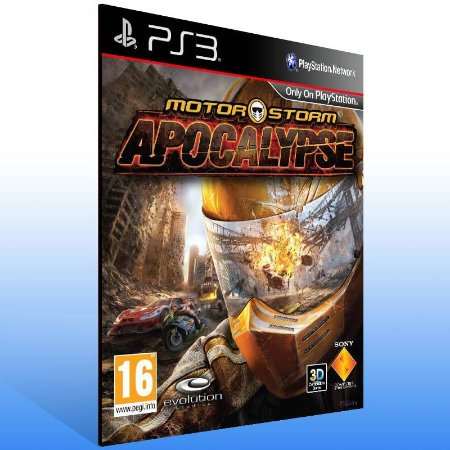 Motorstorm Apocalypse - Ps3 Psn Mídia Digital