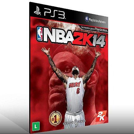 NBA 2K14 - Ps3 Psn Mídia Digital