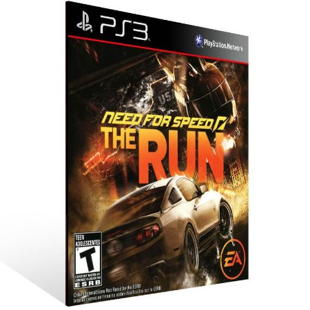 Need For Speed The Run - Ps3 Psn Mídia Digital