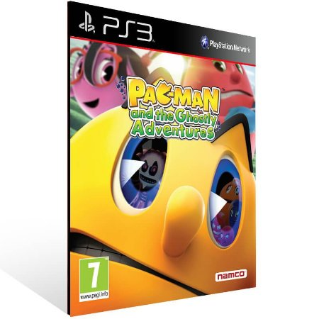 Pac Man and The Ghostly Adventures - Ps3 Psn Mídia Digital