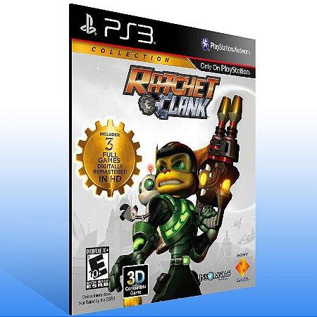 Ratchet & Clank: Collection - Ps3 Psn Mídia Digital
