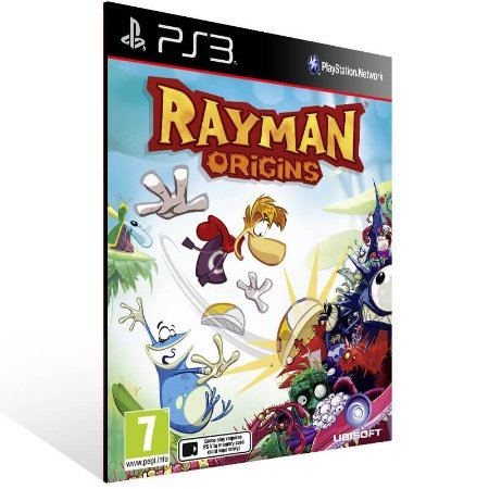 Rayman Origins - Ps3 Psn Mídia Digital