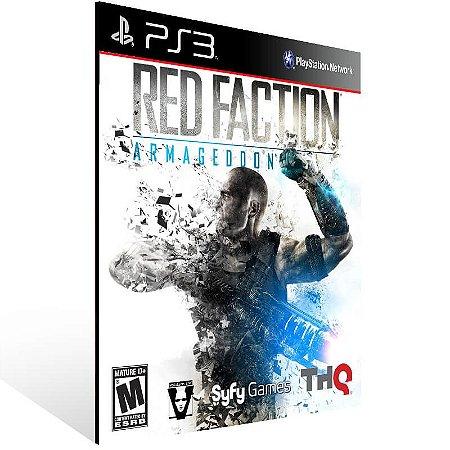 Red Faction: Armageddon Ultimate Edition - Ps3 Psn Mídia Digital
