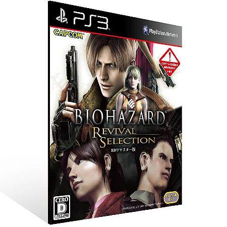 Resident Evil Code Veronica X + Resident Evil 4 - Ps3 Psn Mídia Digital