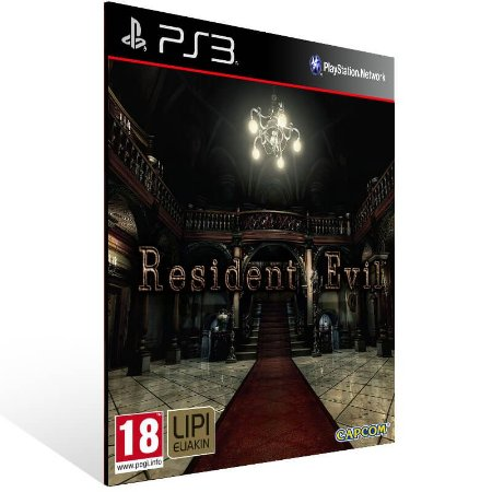 Resident Evil HD Remaster - Ps3 Psn Mídia Digital