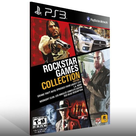 Rockstar Games Collection - Ps3 Psn Mídia Digital