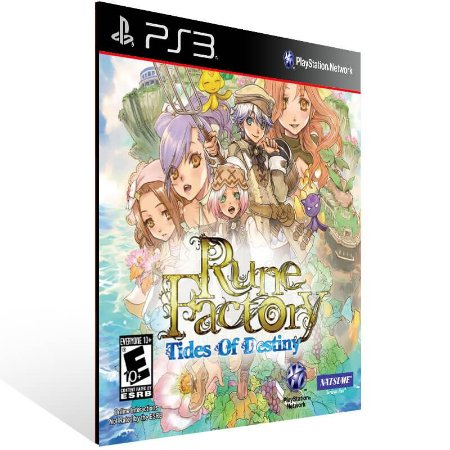 Rune Factory Tides Of Destiny - Ps3 Psn Mídia Digital