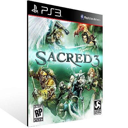 Sacred 3 - Ps3 Psn Mídia Digital