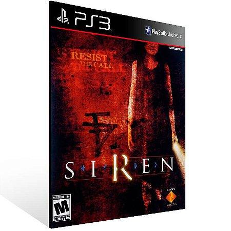 Siren (Ps2 Classic) - Ps3 Psn Mídia Digital