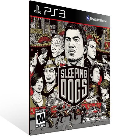 Sleeping Dogs - Ps3 Psn Mídia Digital