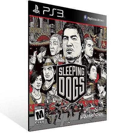 Sleeping Dogs - Ps3 Psn Mídia Digital