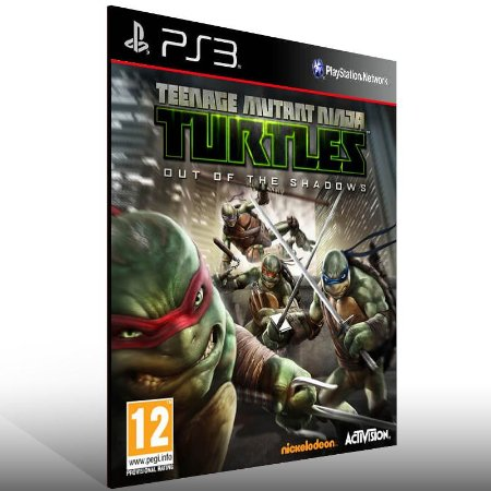 Teenage Mutant Ninja: Out of Shadows - Ps3 Psn Mídia Digital