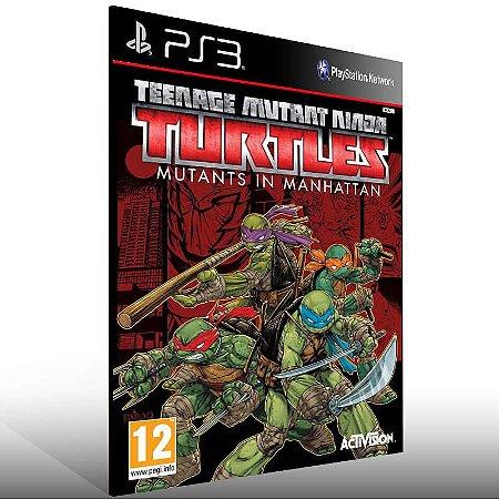 Teenage Mutant Ninja Turtles: Mutants In Manhattan - Ps3 Psn Mídia Digital