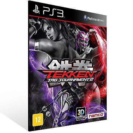 Tekken Tag Tournament 2 - Ps3 Psn Mídia Digital