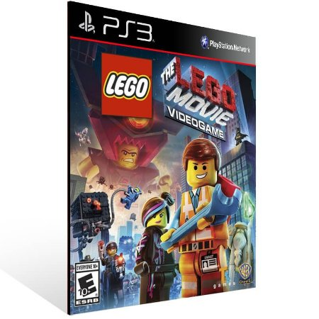The Lego Movie Videogame - Ps3 Psn Mídia Digital
