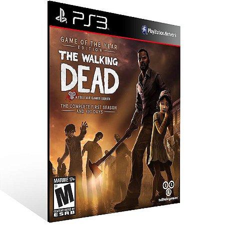 The Walking Dead The Complete First Season - Ps3 Psn Mídia Digital
