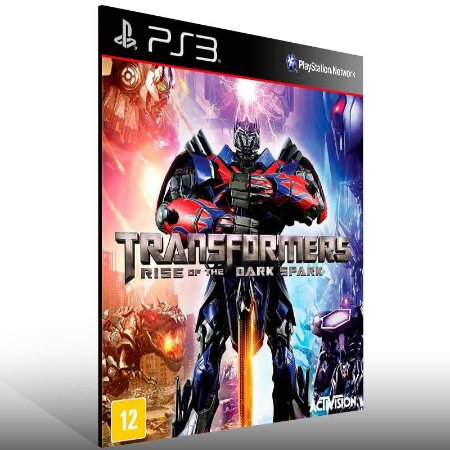 Transformers Rise of The Dark Spark - Ps3 Psn Mídia Digital