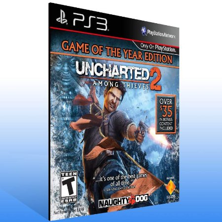 Uncharted 2: Among Thieve Goty Edition - Ps3 Psn Mídia Digital